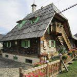 Casa de Drvengrad en Serbia