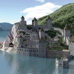 Fortaleza de Golubac en Serbia